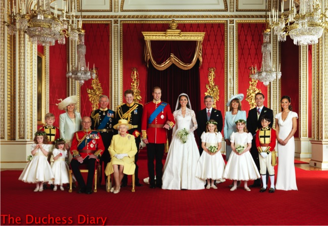 prince william kate middleton family photo buckingham palace