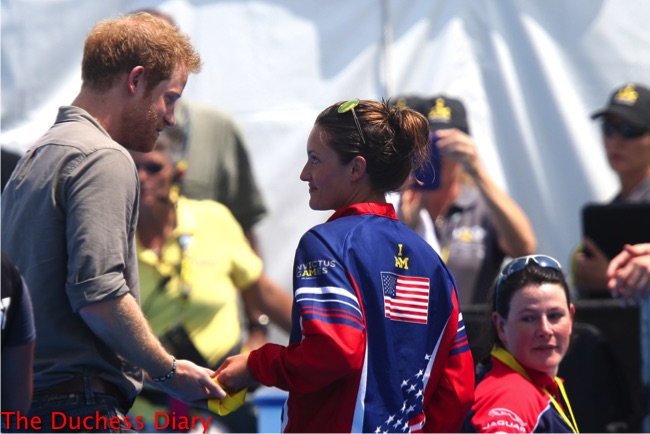 prince harry elizabeth marks gives gold medal hospital where she was injured