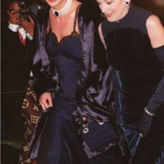 princess diana midnight blue dior gown met costume institute gala 1996