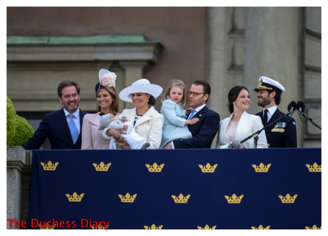 king carl xvi gustaf birthday family sweden