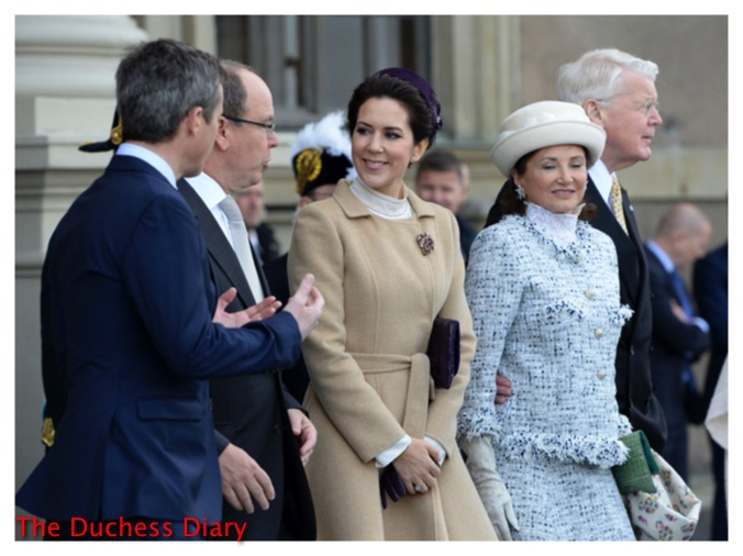 Danish Royals crown princess mary crown prince frederick celebrate king carl xvi gustaf birthday