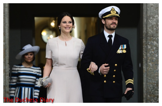 princess sofia prince carl philip te deum service king carl xvi gustaf