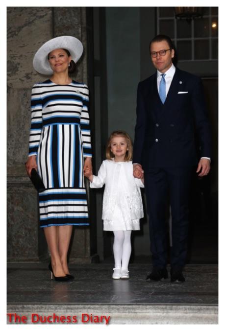 Crown Princess Victoria Princess Estelle and Prince Daniel celebrate king carl xvi gustaf birthday