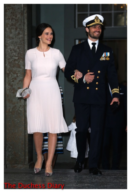 Princess Sofia Prince Carl Philip te deum service king carl xvi gustaf birthday