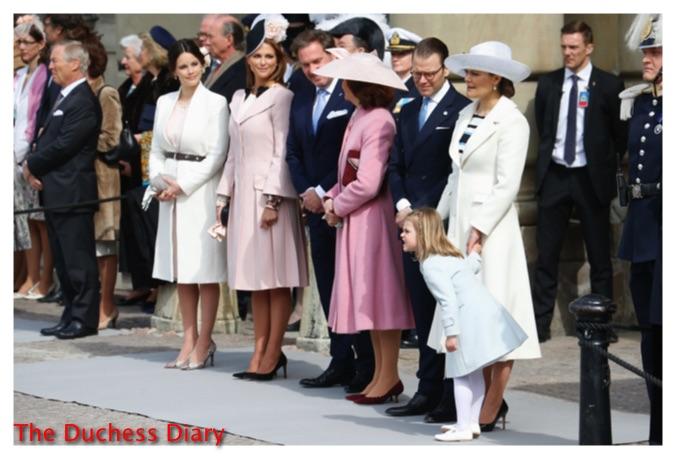 swedish royal family celebrates king carl xvi gustaf birthday