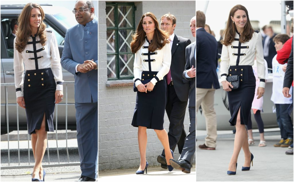 kate middleton alexander mcqueen outfit buttons