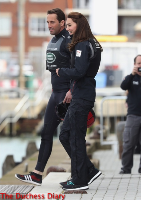 kate middleton sailing boards boat