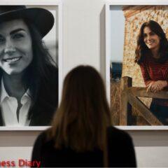 kate middleton national portrait gallery photos