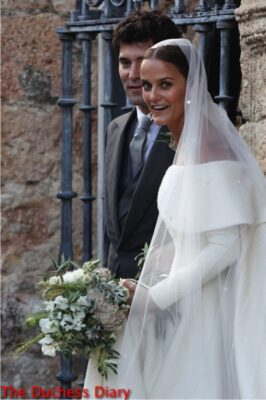 lady charlotte wellesley marries alejandro santo domingo spain