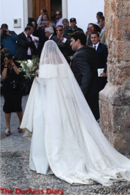 lady charlotte wellesley marries Alejandro Santo Domingo illora spain