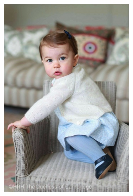princess charlotte blue outfit chair anmer hall