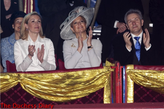 princess maxima attends performance circus mondeo