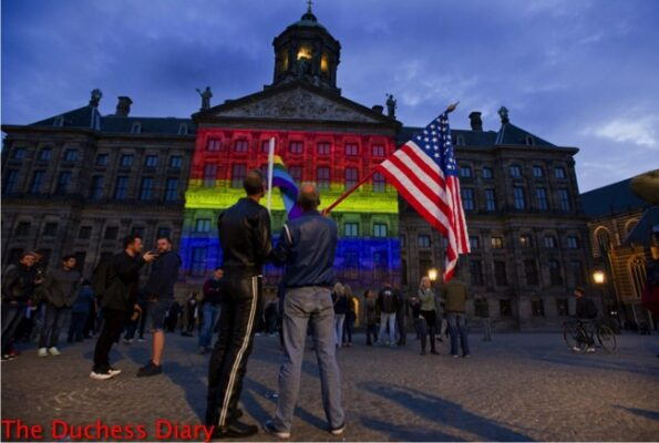 royal palace amsterdam lights up orlando shooting victims support