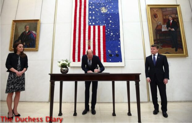 prince william signs book condolence us embassy london orlando shootings