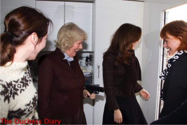 duchess cornwall laugh pulls gun crown princess mary denmark the killing set