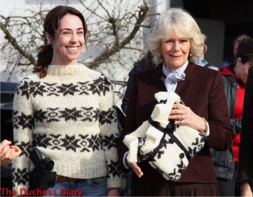 sofie grabol presents camilla sweater the killing set