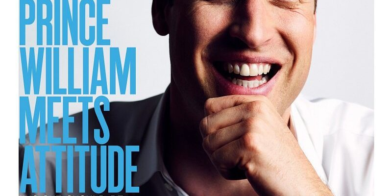 Prince William Makes History, Covers LGBTQ Magazine Attitude