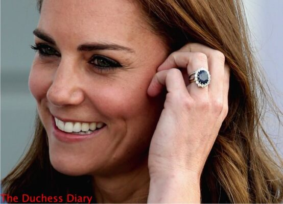 duchess of cambridge close-up engagement ring portsmouth july 2016