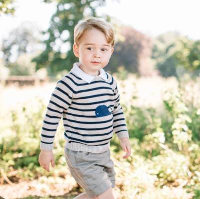 prince george striped whale sweater anmer hall third birthday