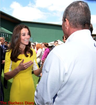 duchess cambridge chats ivan lendl wimbeldon