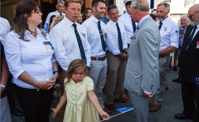 Little Girl Meets Prince Charles, Doesn't See What All The Fuss Is About