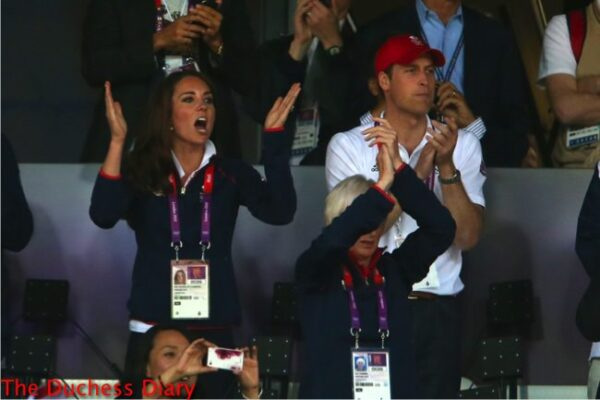 prince william kate middleton cheer on mo farah olympics 2012