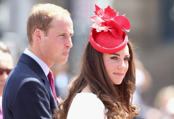 OTTAWA, ON - JULY 01: Prince William, Duke of Cambridge and Catherine, Duchess of Cambridge arrive at Parliament Hill for Canada Day Celebrations on July 1, 2011 in Ottawa, Canada. The newly married Royal Couple are on the second day of their first joint overseas tour. Ottawa is the start of a 12 day visit to North America which will take in some of the more remote areas of the country such as Prince Edward Island, Yellowknife and Calgary. The Royal couple will be joining millions of Canadians in taking part in today's Canada Day celebrations which mark Canada's 144th Birthday. (Photo by Chris Jackson/Getty Images)