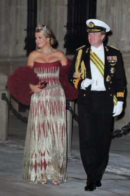 queen maxima king willem alexander pre wedding dinner Luxembourg