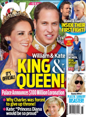 prince william kate middleton august 2016 ok cover