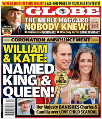 prince william colonel irish guards uniform kate middleton fake crown globe