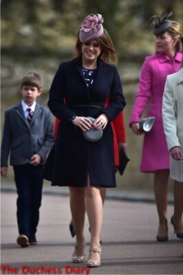 princess eugenie juliette botterill hat easter service 2016