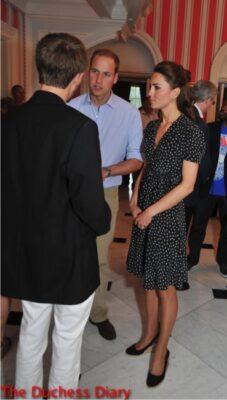 prince william kate middleton issa dress ottawa informal reception