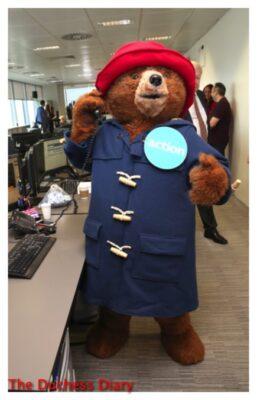 paddington bear makes trade 2016 bgc annual global charity day