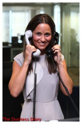 pippa middleton two phones bcg global charity day 2016
