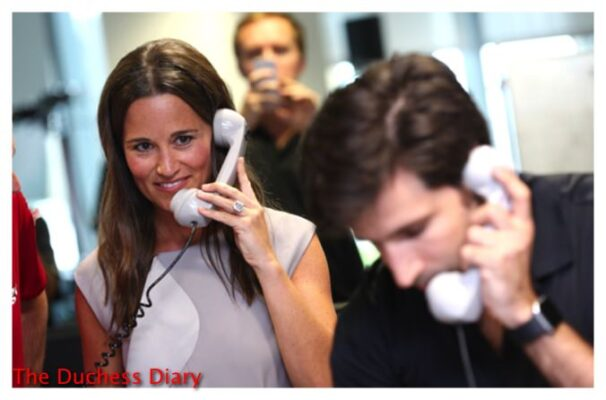pippa middleton phone call bgc charity day 2016