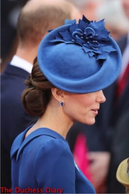 kate middleton lock & co hat victoria official welcome ceremony royal tour