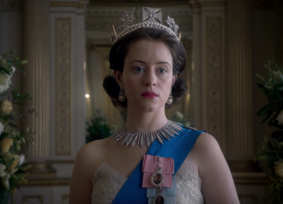 claire foy queen elizabeth george iv diadem the crown