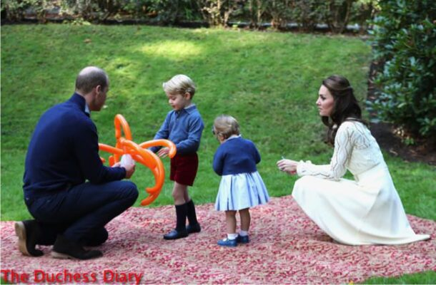 princess charlotte focus cardigan cambridge family children's party canada