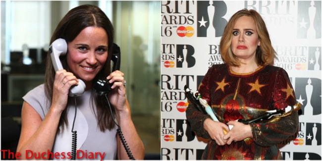 Pippa Middleton To Adele: Hello, Want To Sing At My Wedding? (REPORT)