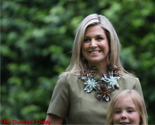 queen maxima princess ariane summer photo call netherlands