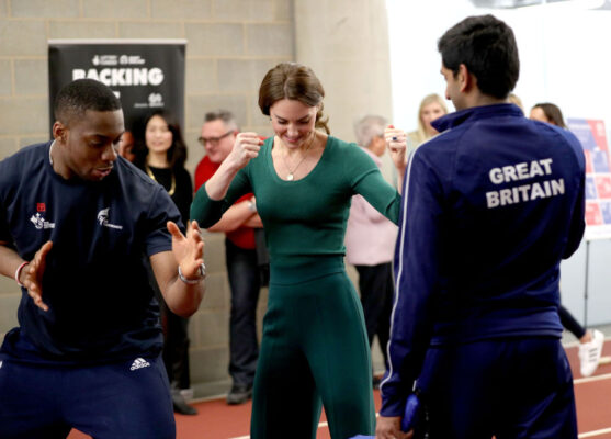 Kate Middleton Learns Footing Boxing SportsAid Event
