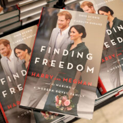 Finding Freedom Book Copies Prince Harry Meghan Markle