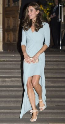 Kate Middleton Powder Blue Jenny Packham 2014 Wildlife Photographer of the Year Awards