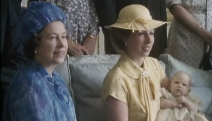 The Queen Acts Like Any Other Granny at Zara Tindall's Christening