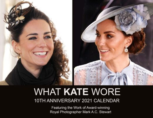 Whate Kate Wore 2021 Calendar Kate Middleton